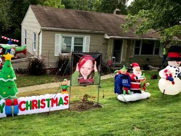 Adelantan la Navidad para Brody Allen, un pequeño de 2 años con cáncer terminal
