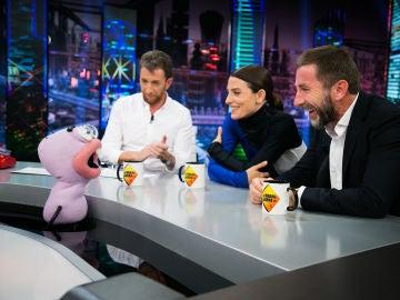 'Delincuente o guionista', Trancas y Barrancas juegan con Bárbara Lennie y Antonio de la Torre en 'El Hormiguero 3.0'