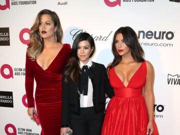 Khoé, Kourtney y Kim Kardashian