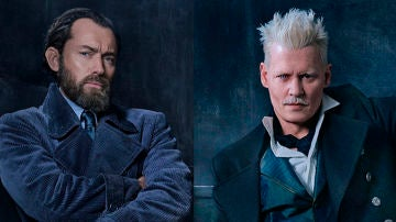 Dumbledore y Grindelwald en 'Animales Fantásticos 2'