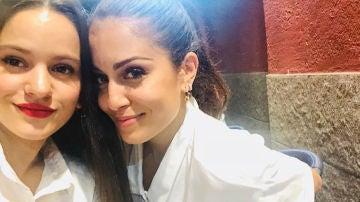 Hiba Abouk y Rosalía