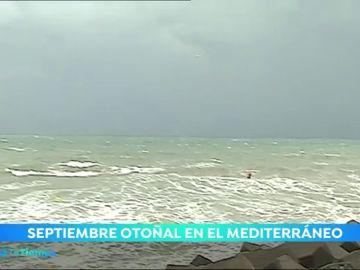 El viento de Levante es el protagonista en el Mediterráneo
