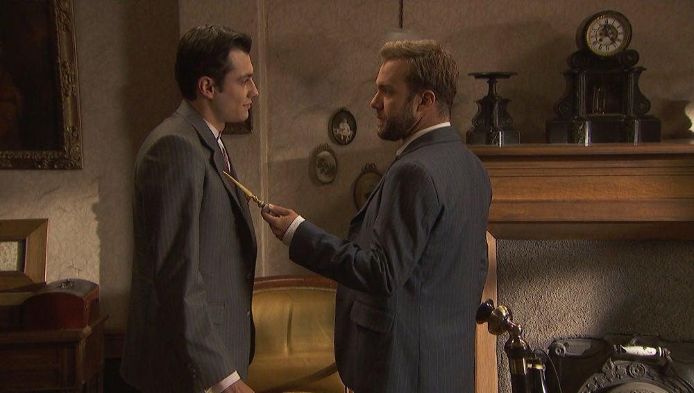 """Fernando acorrala a Prudencio: """"Vas a contarme todo lo que está pasando"""""""