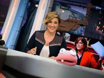 Cristina Pardo recopila en 'El Hormiguero 3.0' las reacciones de los políticos cuando son acusados de corrupción