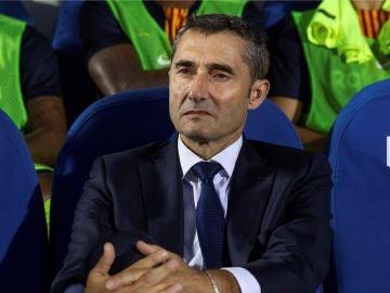Valverde, durante el partido contra el Leganés