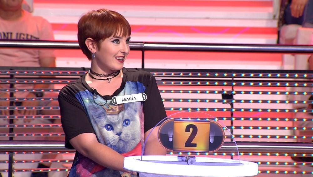 Descubre a la primera concursante en superar el récord de muletillas en '¡Ahora Caigo!'