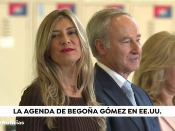 Primer viaje internacional de Begoña Gómez acompañando al presidente
