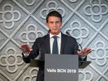 El ex primer ministro francés Manuel Valls
