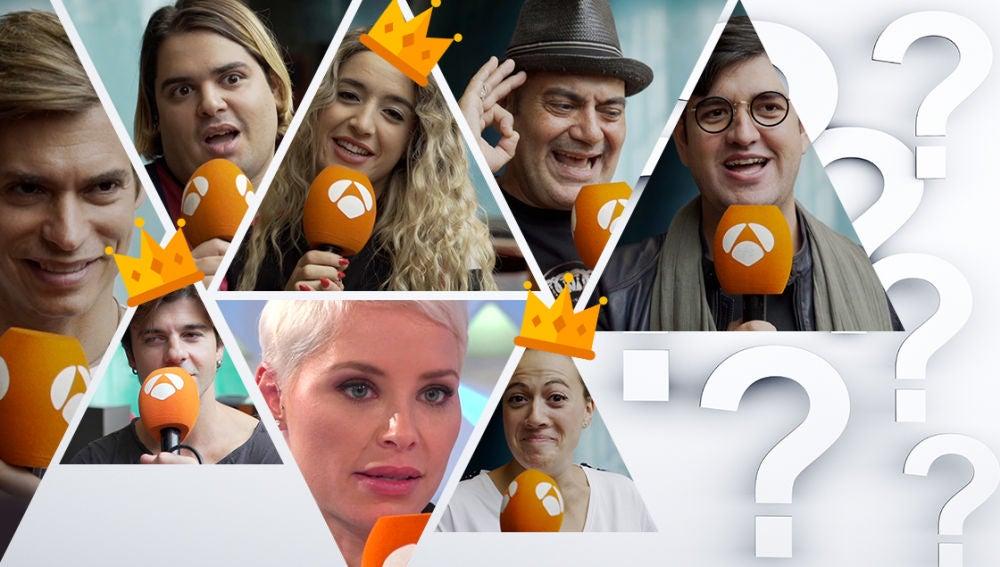 Los concursantes hacen sus apuestas sobre quién será el ganador de 'Tu cara me suena'