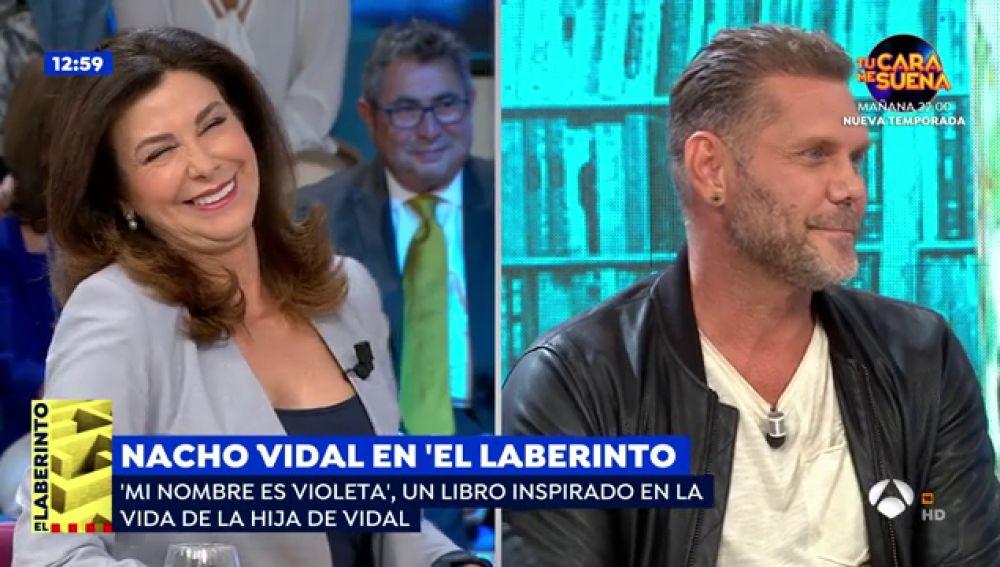 El divertido momento en el que Arenales Serrano descubre en 'Espejo Público' que Nacho Vidal es actor porno