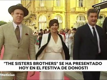 La película del oeste 'The sisters brothers' se presenta en el Festival de Cine de San Sebastián