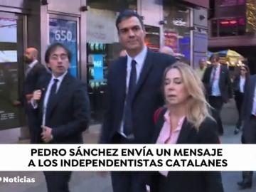"""Sánchez cree que sus """"potenciales aliados"""" entenderán unos Presupuestos con el actual techo de gasto"""