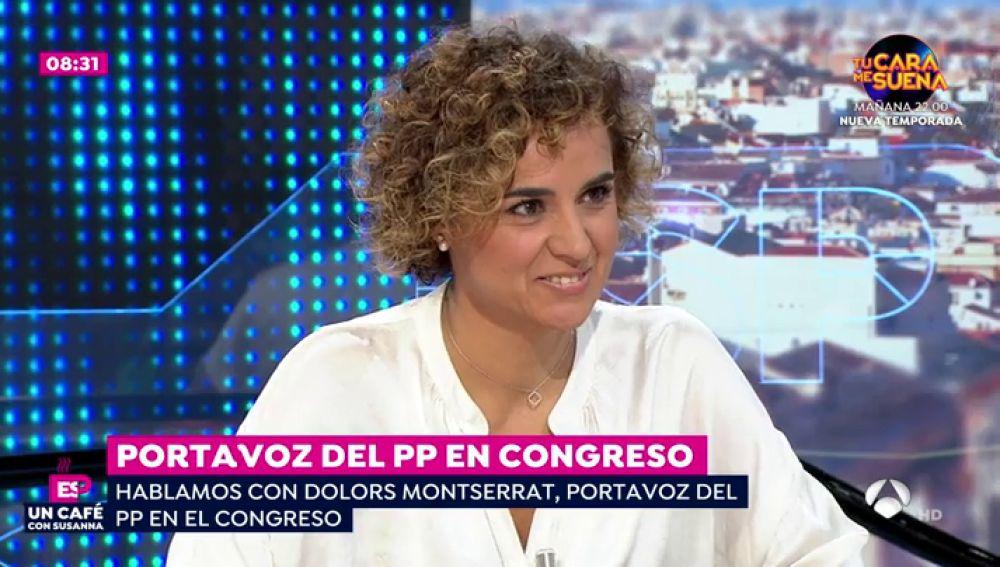 Dolors Montserrat en Espejo Público