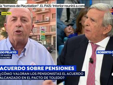 """La tremenda bronca del economista Roberto Centeno con un pensionista: """"Las cifras las entiende hasta un niño de Primaria"""""""