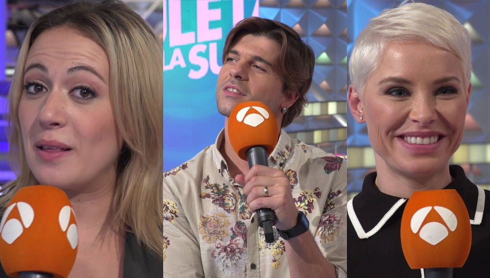 Jordi Coll, María Villalón y Soraya Arnelas invitan a Jorge Fernández y Laura Moure a 'Tu cara me suena'