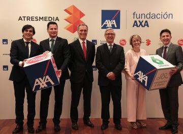 Atresmedia y Fundación AXA amplían hasta 2023 su compromiso