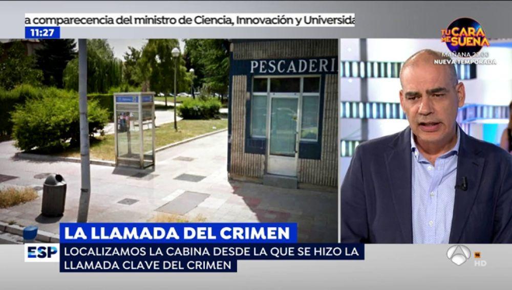 'Espejo Público' localiza la cabina desde la que se hizo la llamada clave del crimen de Santander