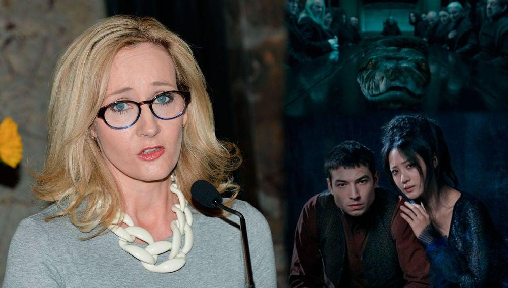J.K. Rowling y la polémica de 'Animales Fantásticos 2'
