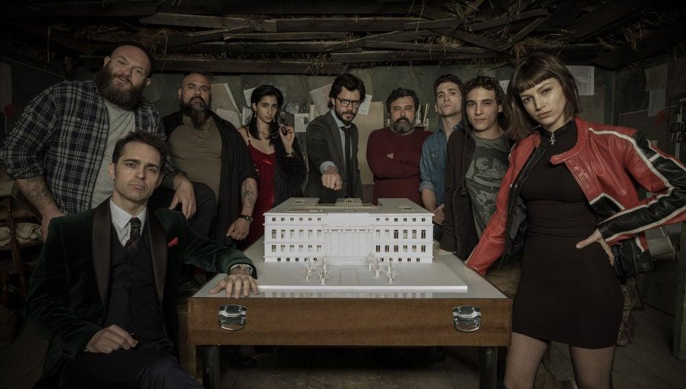 'La casa de papel', serie original de Atresmedia Televisión, nominada al Emmy Internacional como mejor Drama