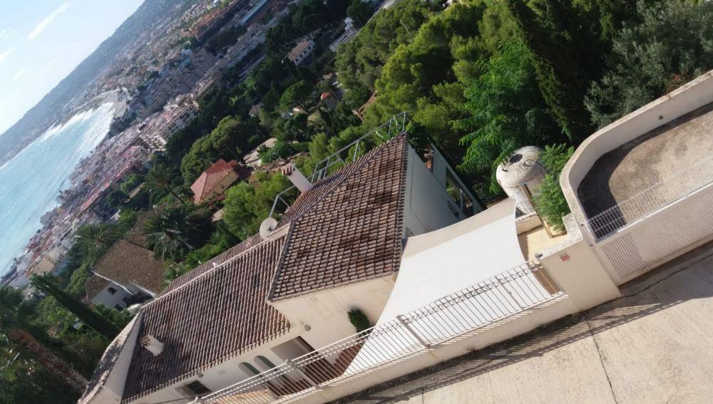 Imagen de la casa de Jávea de Pedro Duque