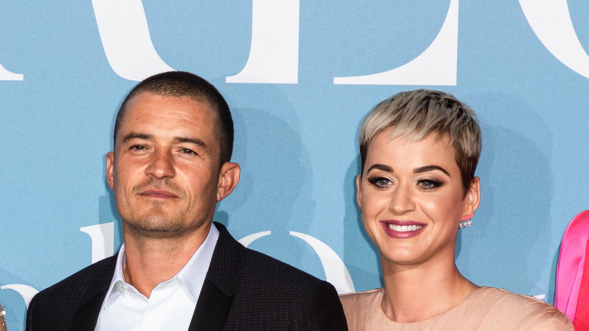 Katy Perry y Orlando Bloom posan juntos por primera vez