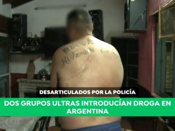 Desarticulados dos grupos ultras que introducían droga en Argentina