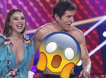 Manel Fuentes enseña sus abdominales 'Tu cara me suena'