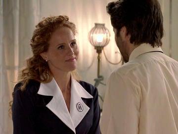 Natalia y Gabriel, complicidad en el cruce de sus primeras palabras