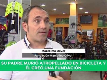 """Marcelino Oliver: """"Perdonamos a la persona que mató a mi padre"""""""