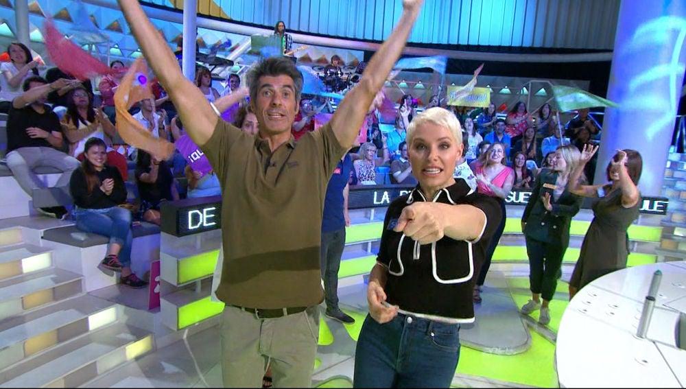 Los concursantes de 'Tu cara me suena', impresionados por el ritmo con el que empieza 'La ruleta de la suerte'