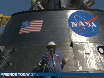 La NASA lanza un escupitajo al espacio por primera vez en la historia