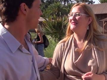 Mario Casas con Luz Gabás