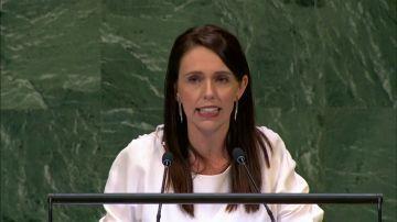 La primera ministra de Nueva Zelanda