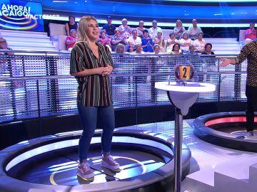 """Lucía es """"absorbida por la trampilla"""" de '¡Ahora Caigo!'"""