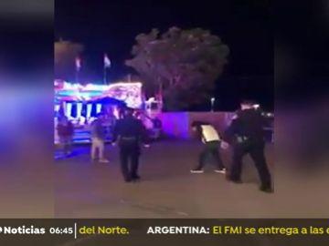 POLICIA PATADA