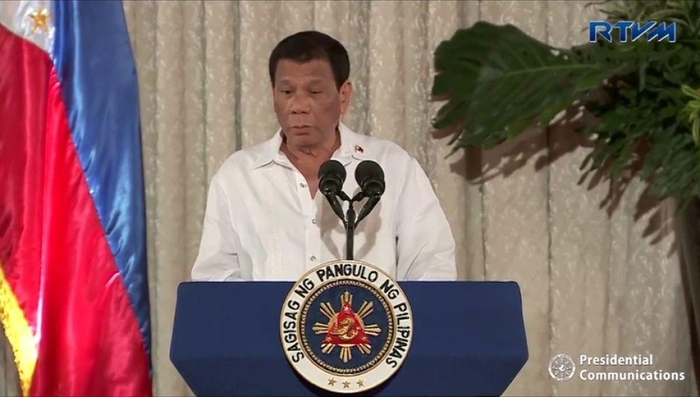 El presidente filipino reconoce ejecuciones extrajudiciales