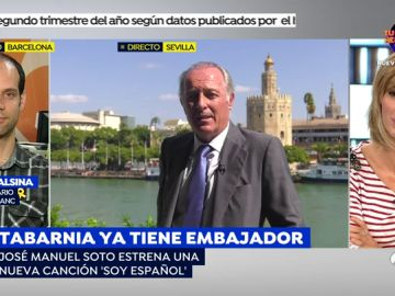 """José Manuel Soto, nuevo embajador de Tabarnia: """"Sentirse español no es facha, ni de izquierdas ni de derechas"""""""