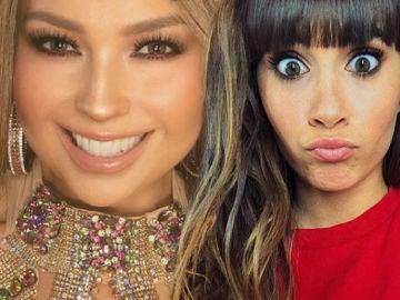 El hilarante despiste de Aitana con Mimi tras conocer que imitará a Thalia en la segunda gala