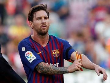 Messi, tras el partido contra el Athletic