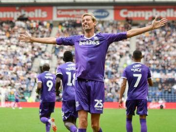 Peter Crouch, delantero del Stoke City