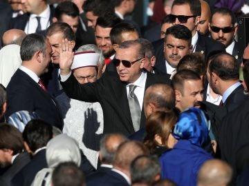 Erdogan en Alemania
