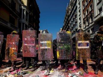 Noticias Fin de Semana (29-09-18) Al menos seis independentistas detenidos y un mosso herido en los altercados en Barcelona