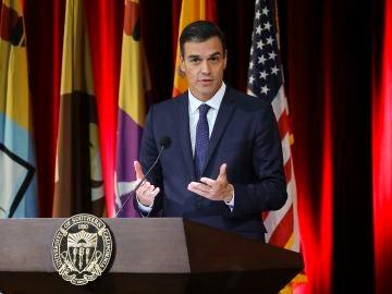 El presidente del Gobierno de España, Pedro Sánchez