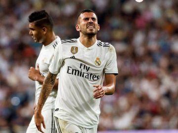 El centrocampista del Real Madrid, Dani Ceballos