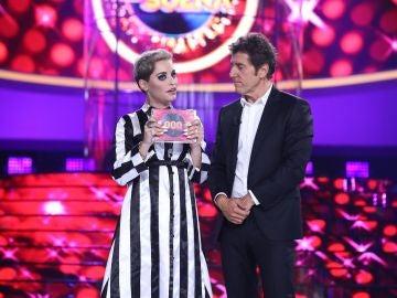 Soraya Arnelas se alza con el primer triunfo de la séptima edición de 'Tu cara me suena' en el estreno de la gala 1