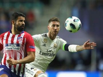 Diego Costa y Sergio Ramos