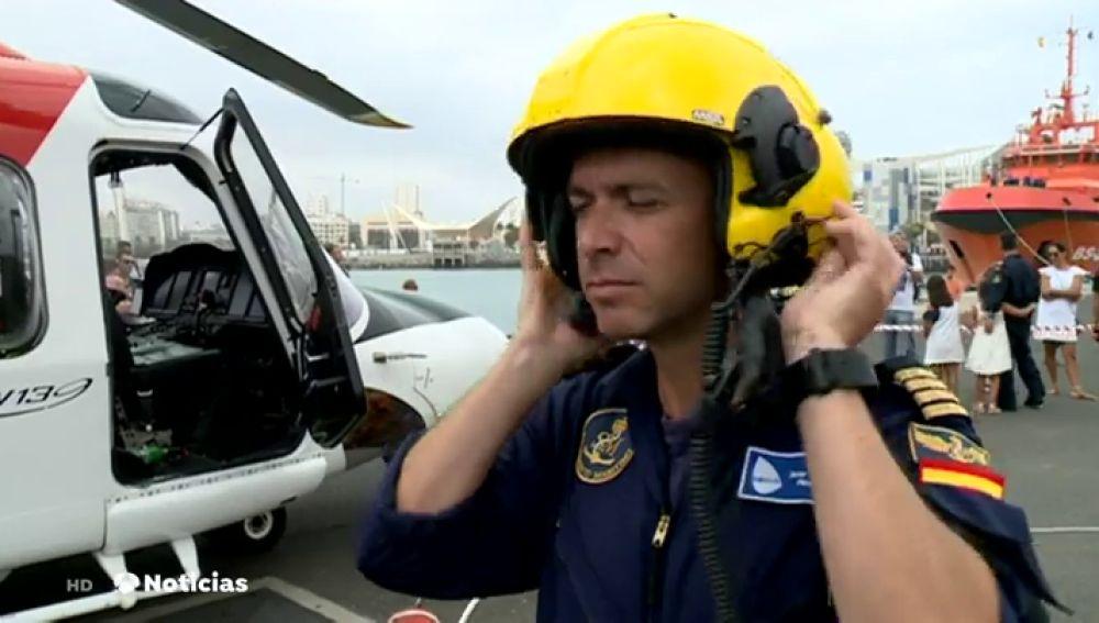 El servicio de rescate marítimo de Canarias recuerda los momentos más críticos vividos durante el servicio