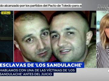 Los hermanos Sandulache obligaron a una prostituta a comerse 700 euros en billetes de cinco