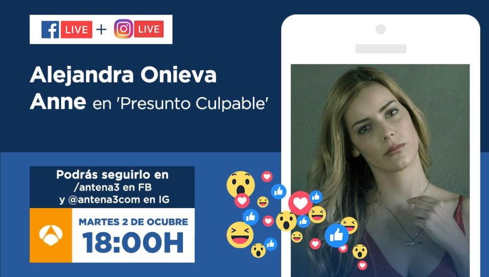 Alejandra Onieva responderá tus preguntas en directo este martes a partir de las 18:00 horas