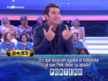Arturo Valls cuenta a quién debe su apodo Pelé